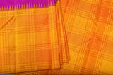 Purple and Yellow Kanchipuram Saree-2199