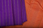 Violet and Red Kanchipuram Saree-2241
