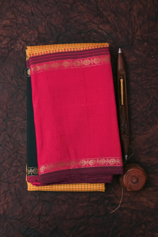 Yellow Kanchipuram Saree-117A
