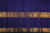 Yellow and Blue Kanchivaram Saree-104A
