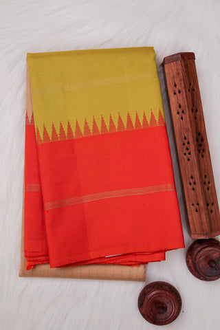 Sandal Kanchipuram Saree-1878