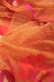 Light Yellow Organza Saree-1185