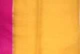 Yellow Organza Saree-1187