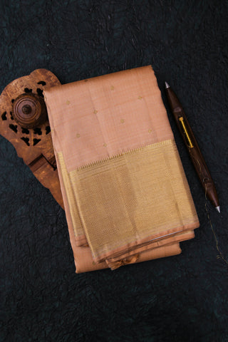 Peach Kanchipuram Saree-1713