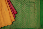 Pink and Yellow Kanchivaram Saree-2079