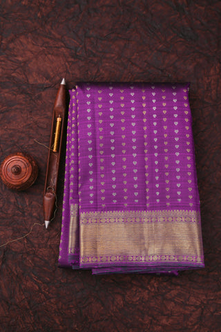 Purple Kanchipuram Saree-125A