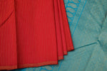 Reddish Pink Kanchipuram Saree-2205