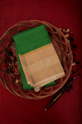 Green and Sandal Kanchipuram Saree-1264