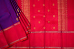 Violet and Pink Kanchipuram Saree-2029