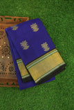 Blue and Black Kanchipuram Saree-1838
