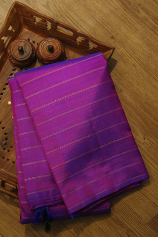 Purple Kanchipuram Silk Saree-1529