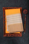 Yellow and Beige Kanchipuram Saree-1540