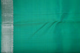 Aqua Green Kanchipuram Saree-1811