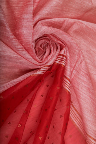 Red Organza Saree-1214