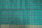 Checked Organza Saree-1315
