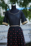 Black Floor Length Anarkali