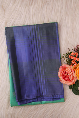 Pista Green Soft Silk Saree-1326