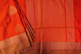 Orange Soft Silk Saree-1197