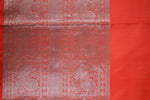 Violet and Orange Kanchipuram Tissue Saree-1863