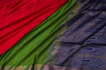 Green Soft Silk Saree-1367