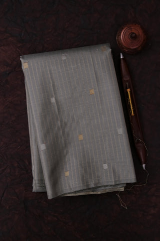 Grey Kanchipuram saree -2163