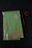 Pista Green Kanchipuram Saree-2155