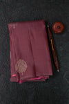 Plum Mauve Kanchipuram Saree-2153