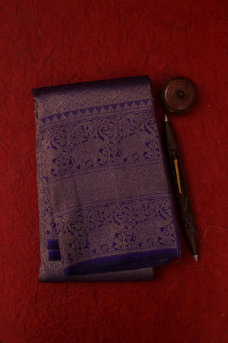 Dark Blue Kanchipuram Saree -2142