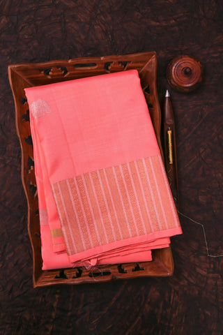 Peach Kanchipuram Saree-1486