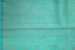 Turquoise Blue Kanchipuram Saree-1484