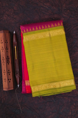 Purple and Green Kanchipuram Saree-0143