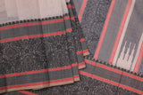 Beige Cotton Saree-1699