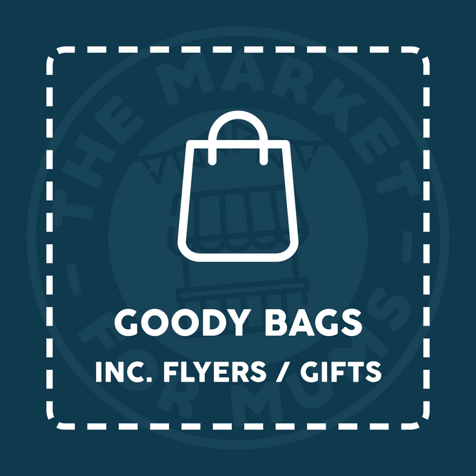 Goody Bags - Market Event - COLCHESTER, Charter Hall (15/03/20)