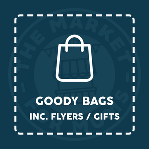 Goody Bags - Market Event - IPSWICH, TRINITY PARK 23/02/20