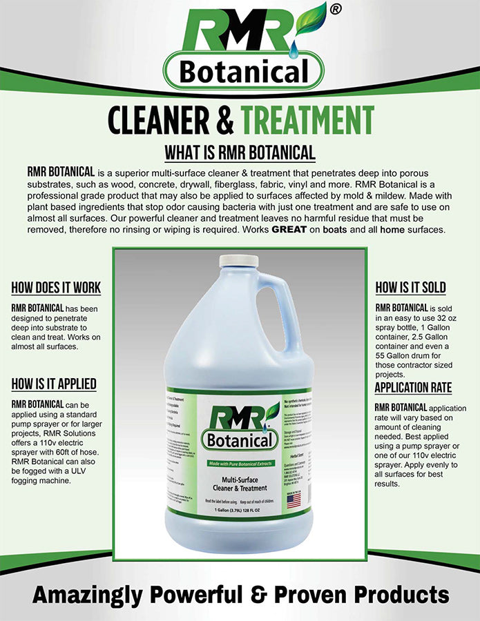 RMR Botanical Treatment and Cleaner
