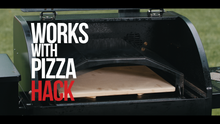 Wood Fired Pizza on the Griddle Hack pellet grill griddle insert by BBQ Hack
