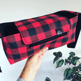 Plaid Stroller Caddy