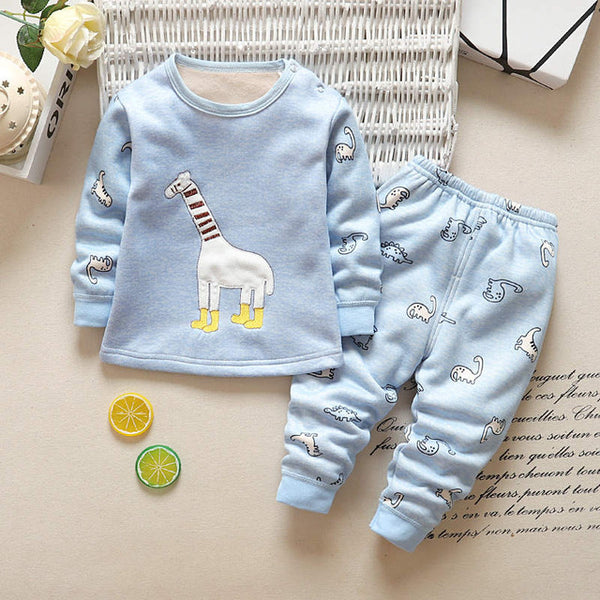 2-Pieces Giraffe T-shirt Pants Set