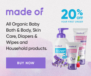 Made Of Organic Baby Skin Care