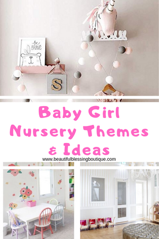 baby girl nursery themes and decor