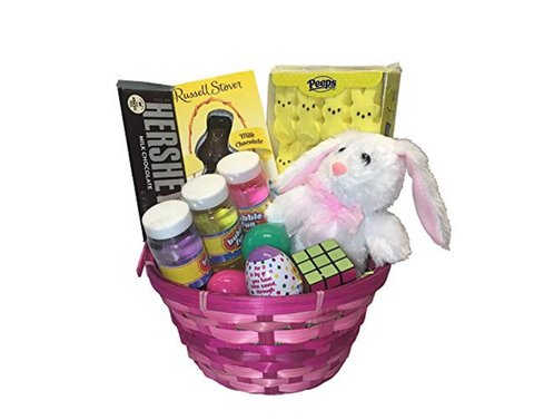Pink Easter Basket for Girls