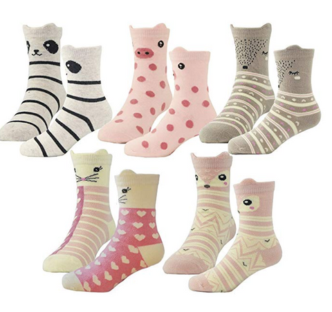 Toddler Girls Fashion Socks