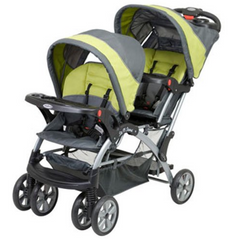 Best Double Stroller: Baby Trend Sit N Stand Double Carbon Stroller