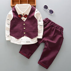 Toddler Boy Formal 3 Piece Outfit