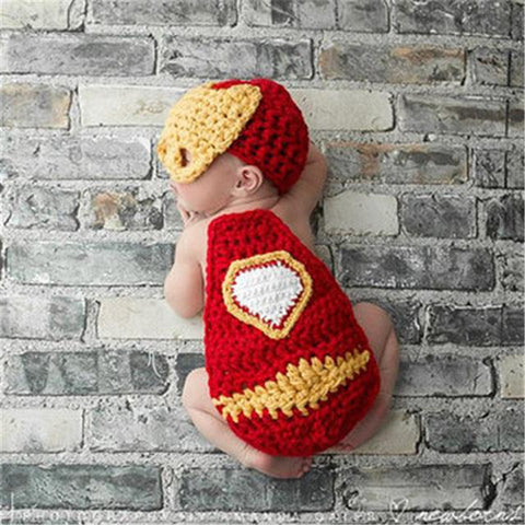 Superhero Newborn Photography Outfit The Flash