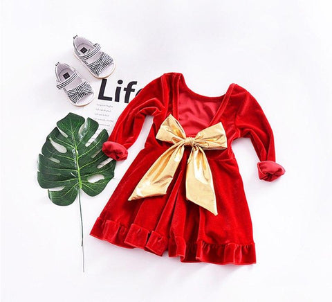 Toddler Girl Christmas Dress Beautiful Blessing Boutique