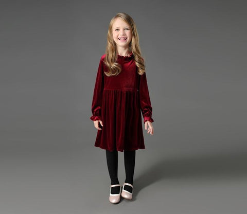 Velvet Winter Dress