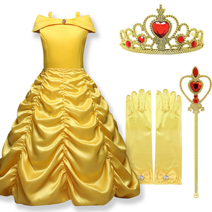 Belle Halloween Costume - Beautiful Blessing Boutique Clothing Shop