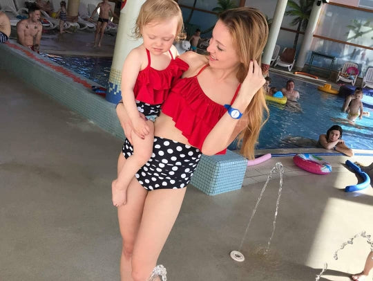 Mother & Daughter Matching Swimsuits - Beautiful Blessing Boutique Clothing Shop