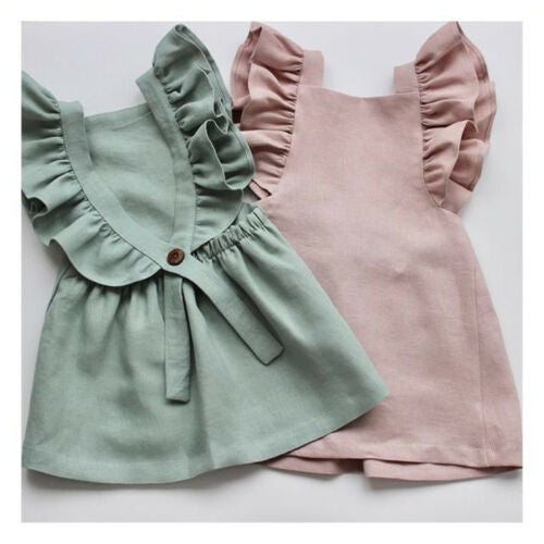 Ruffle Princess Summer Dress